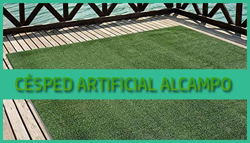 Césped artificial Alcampo